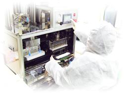 製造工程レンズの構築